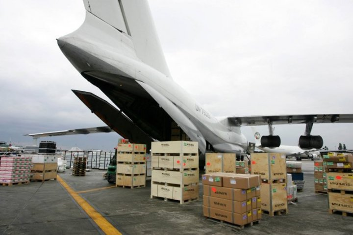 项目货物航空快运供应链